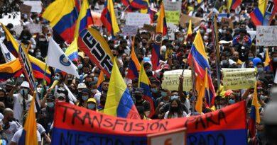 Las marchas masivas contra el gobierno, no ceden en Colombia