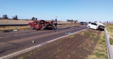 Grave accidente en Ruta 13: una persona fallecida