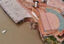 Bajante del Paraná: advierten que los derrumbes de barrancas pueden continuar