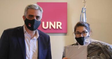 Discriminación y racismo: Paula fue recibida por el rector de la UNR